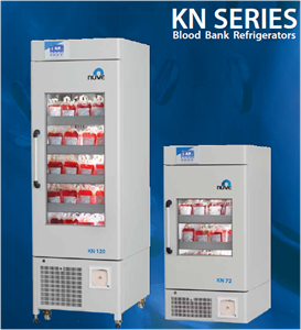 Picture of Laboratory Equipment KN 120 Blood Bank Refrigerators KN 120