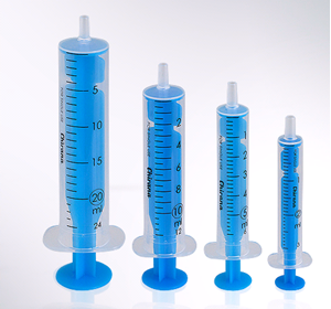 Picture of 5ml disposable syringe 1252
