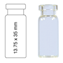 Picture of Vial N13-2, CR, c, 13.75x35, flat  70203