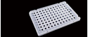 Picture of 0.1ml 96 Well PCR Plate,Semi Skirt 402401